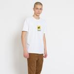 Мужская футболка Stussy Leone White фото- 3