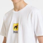 Мужская футболка Stussy Leone White фото- 5