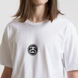 Мужская футболка Stussy Link White фото- 3