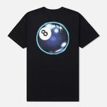 Мужская футболка Stussy Mystic 8 Ball Black фото- 1
