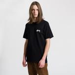 Мужская футболка Stussy Mystic 8 Ball Black фото- 2