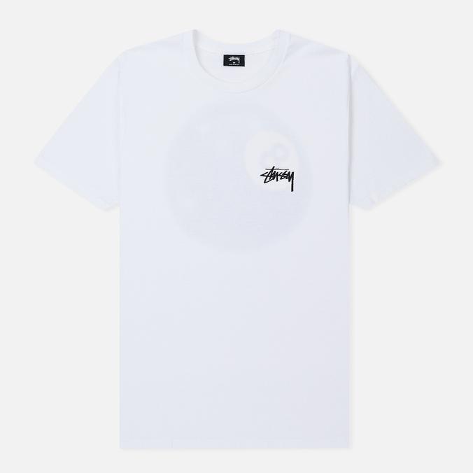 Мужская футболка Stussy Mystic 8 Ball White