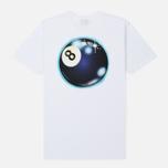Мужская футболка Stussy Mystic 8 Ball White фото- 1