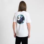 Мужская футболка Stussy Mystic 8 Ball White фото- 3