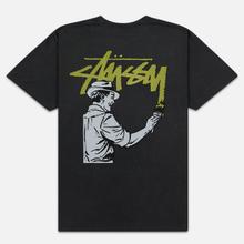 Мужская футболка Stussy Painter Pigment Dyed Black фото- 1