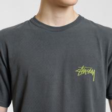 Мужская футболка Stussy Painter Pigment Dyed Black фото- 3