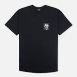 Мужская футболка Stussy Punk Boy Black фото- 0