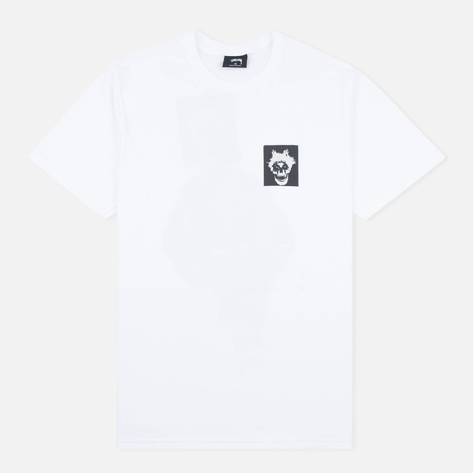 Stussy Punk Boy Men's T-shirt White