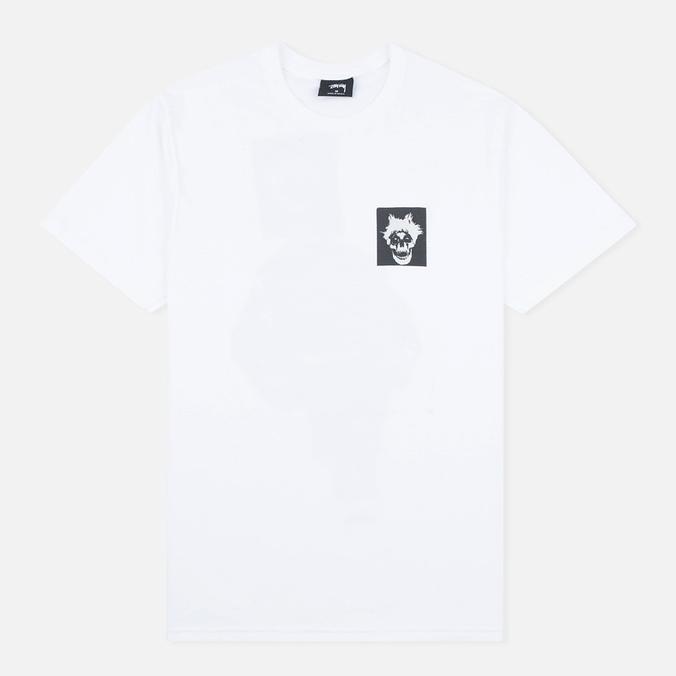 Мужская футболка Stussy Punk Boy White