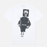 Мужская футболка Stussy Punk Boy White фото- 4
