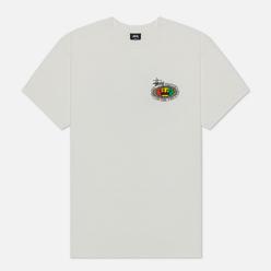 Мужская футболка Stussy Rasta Oval Pigment Dyed Natural