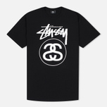 Stussy Stock Link Men's T-Shirts Black photo- 0