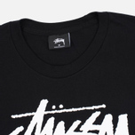 Stussy Stock Link Men's T-Shirts Black photo- 1