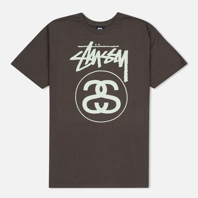 Мужская футболка Stussy Stock Link Charcoal