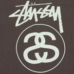 Мужская футболка Stussy Stock Link Charcoal фото- 2