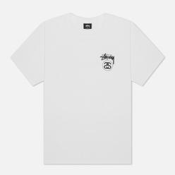 Мужская футболка Stussy Stock Link White