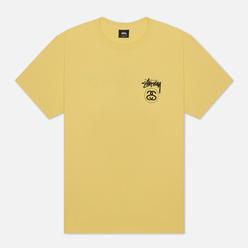 Мужская футболка Stussy Stock Link Yellow
