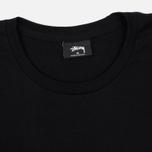 Мужская футболка Stussy Stock Yin Yang Black фото- 1