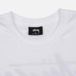 Мужская футболка Stussy Stock Yin Yang White фото- 1