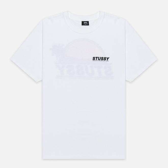 Мужская футболка Stussy Sundown White