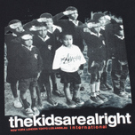 Мужская футболка Stussy The Kids Are Alright Black фото- 2