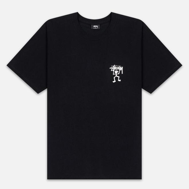 Мужская футболка Stussy Warrior Man Black