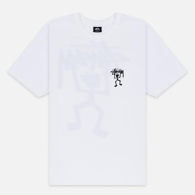 Мужская футболка Stussy Warrior Man White