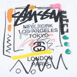 Stussy WT Doodle Men's T-shirt White photo- 2