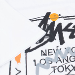 Stussy WT Doodle Men's T-shirt White photo- 3