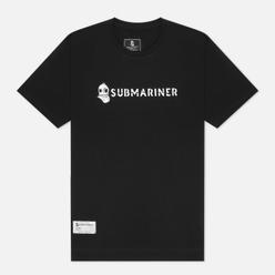 Мужская футболка Submariner Basic Logo Black