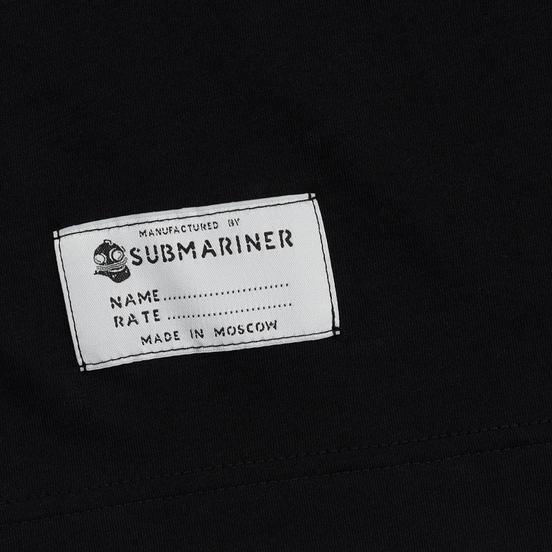 Мужская футболка Submariner Basic Logo Dazzle Black