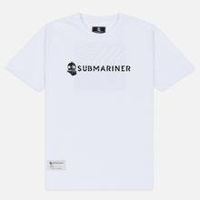 Мужская футболка Submariner Basic Logo Dazzle White фото- 0