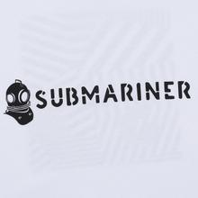 Мужская футболка Submariner Basic Logo Dazzle White фото- 1