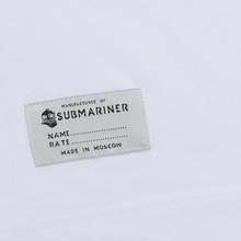 Мужская футболка Submariner Basic Logo Dazzle White фото- 4