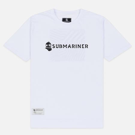 Мужская футболка Submariner Basic Logo Dazzle White