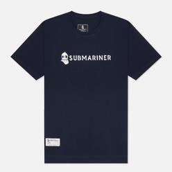 Мужская футболка Submariner Basic Logo Navy