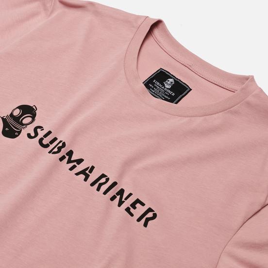 Мужская футболка Submariner Basic Logo Pink