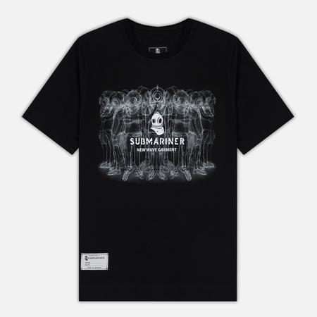 Мужская футболка Submariner Crew Print Black