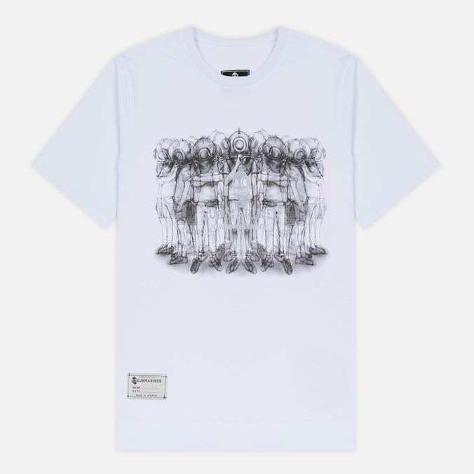 Мужская футболка Submariner Crew Print White
