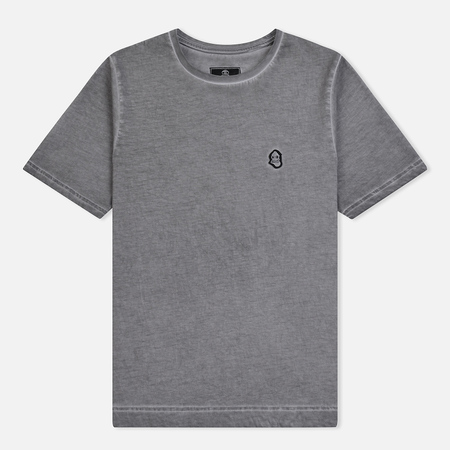 Мужская футболка Submariner Garment Dyed Vintage Effect Grey