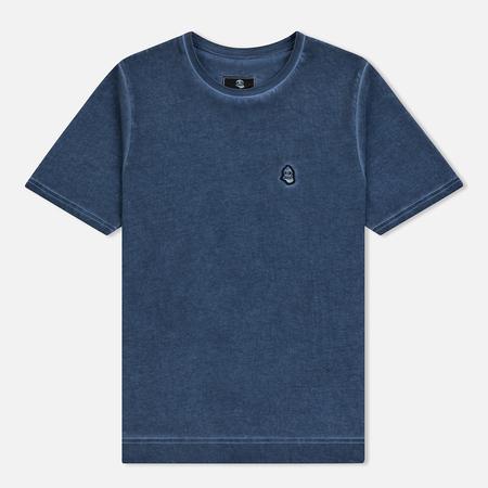 Мужская футболка Submariner Garment Dyed Vintage Effect Navy