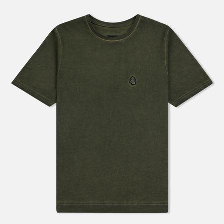 Мужская футболка Submariner Garment Dyed Vintage Effect Olive