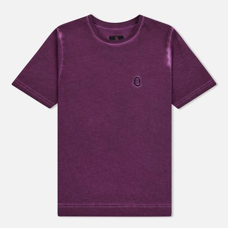 Мужская футболка Submariner Garment Dyed Vintage Effect Purple