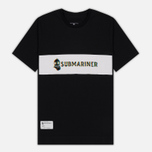 Мужская футболка Submariner Glitch Basic Logo Black фото- 0