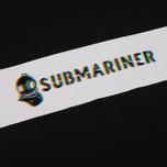 Мужская футболка Submariner Glitch Basic Logo Black фото- 2
