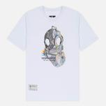Мужская футболка Submariner Glitch Helmet White фото- 0