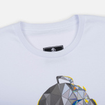 Мужская футболка Submariner Glitch Helmet White фото- 1