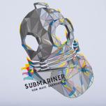 Мужская футболка Submariner Glitch Helmet White фото- 2