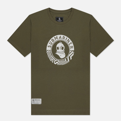 Мужская футболка Submariner Main Logo Print Khaki