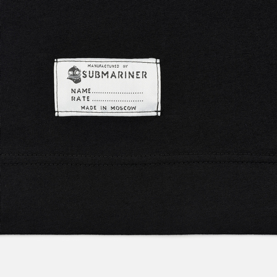 Мужская футболка Submariner Main Logo Print Black